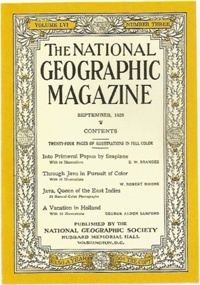 1929.jpg (400×570) #1900 #20s #magazine #geographic #cover #national #1929