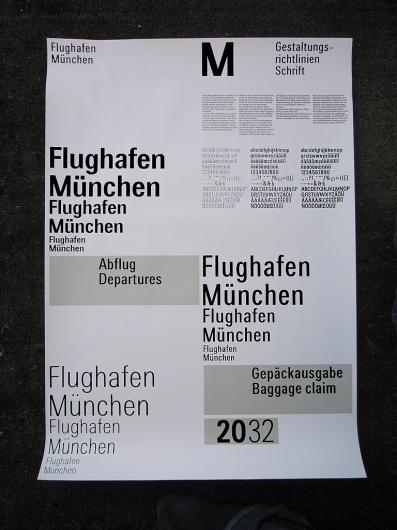 All sizes | Traffic – Flughafen München Typeface | Flickr - Photo Sharing! #grid #system