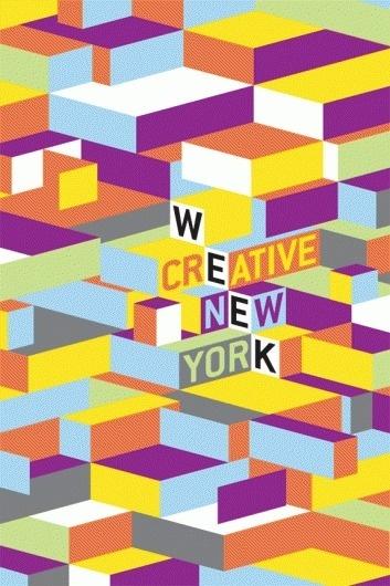 Creative Week NY Cuts Corners - Brand New #branding