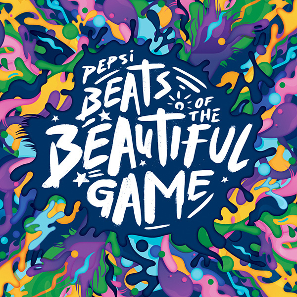 Pepsi Beats Of The Beautiful Game on Behance