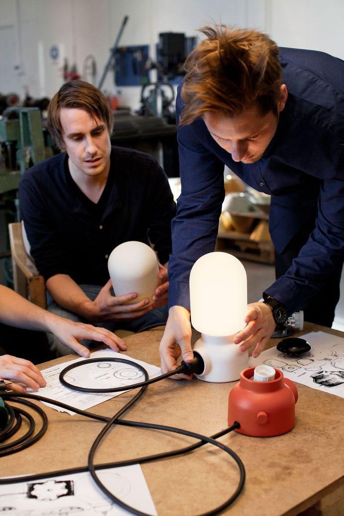 Form Us With Love — ateljé Lyktan – Plug Lamp