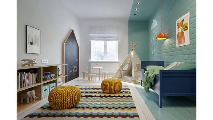 Elegant duplex apartment in MoscowINT2 Architecture - HomeWorldDesign (13) #interior #design #moscow #apartment #duplex