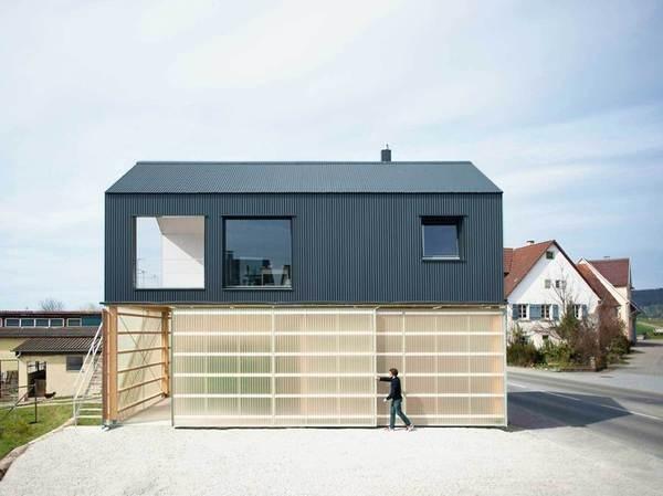 Haus Unimog by Fabian Evers Architecture + Christoph Wezel #modern #design #minimalism #minimal #leibal #minimalist