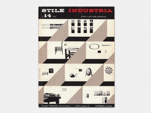 Display | Stile Industria 14 | Collection #cover #design #graphic #book