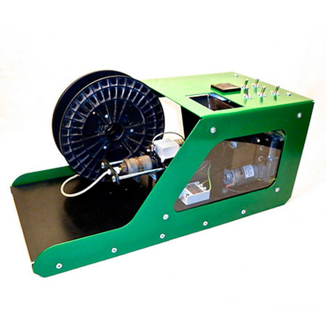Desktop recycling plant makes plastic for 3D printing #recycle #print #3d