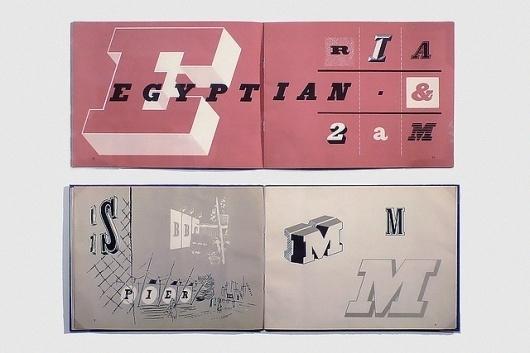 Southbank Typosurvey—Egyptian | Flickr - Photo Sharing! #spread #typography