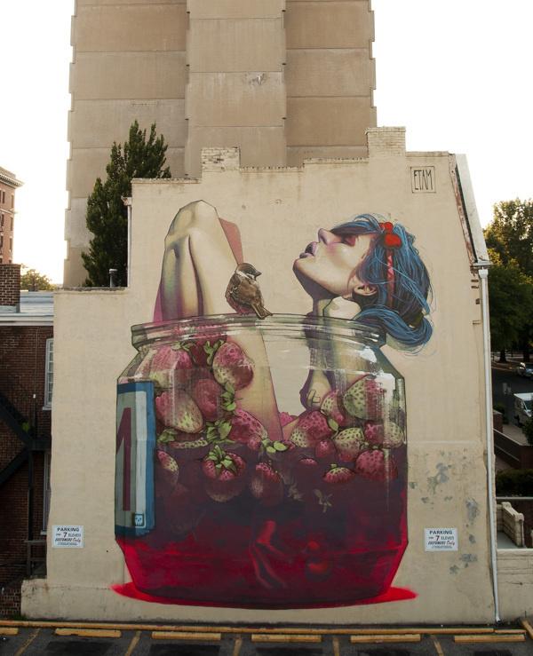 ETAM - MOONSHINE Richmond, USA #art #street