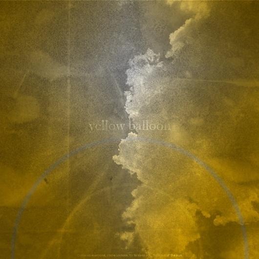 twin shadow - DNLKRGR #yellow #dnlkrgr #balloon #shadow #twin #type #typography