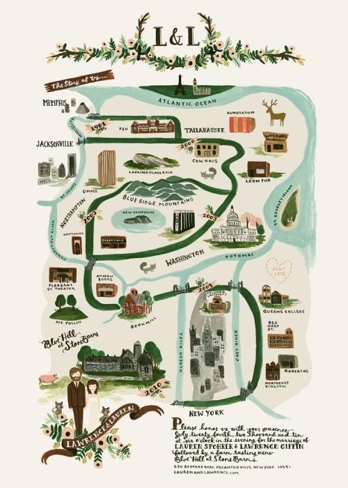 Tabitha Emma » Blog Archive » illustrated maps #illustration #maps