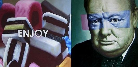 PAGE neo-classics #bollaert #churchill #candy #winston #painting #jan