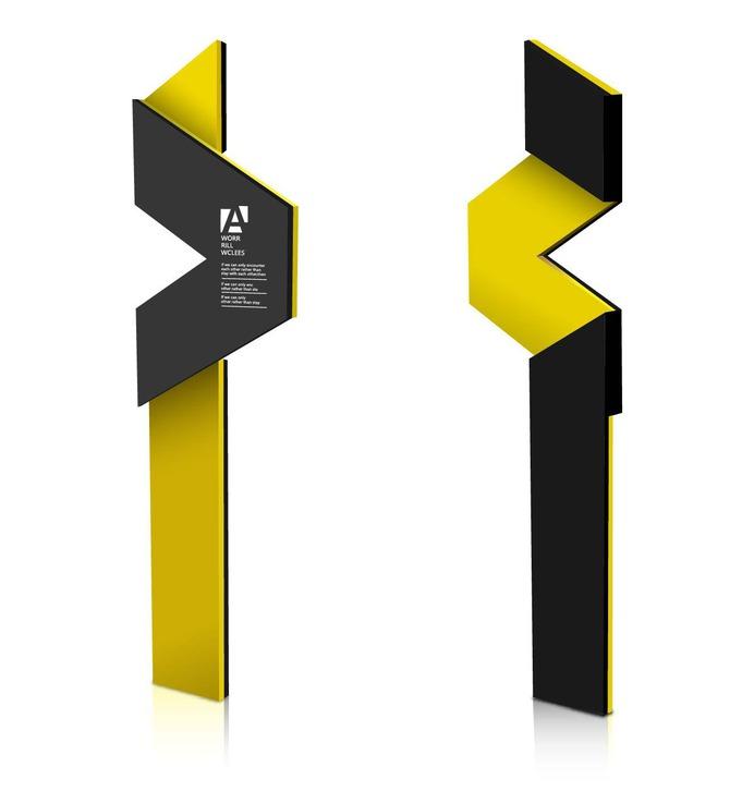 Signage | Sign Design | Wayfinding | Wayfinding signage | Signage design | Wayfinding Design | 户外创意标识牌