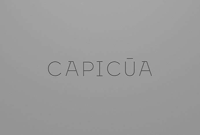 Capicúa by Anagrama #logotype #logo #typography