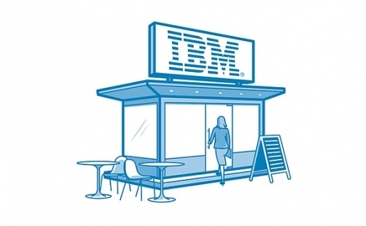 IBM icons on the Behance Network