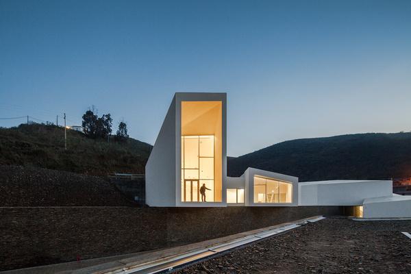 Rowing High Performance Centre by Alvaro Andradre #minimal #minimalism #minimalist #modern design #minimal design #minimalist design #leibal