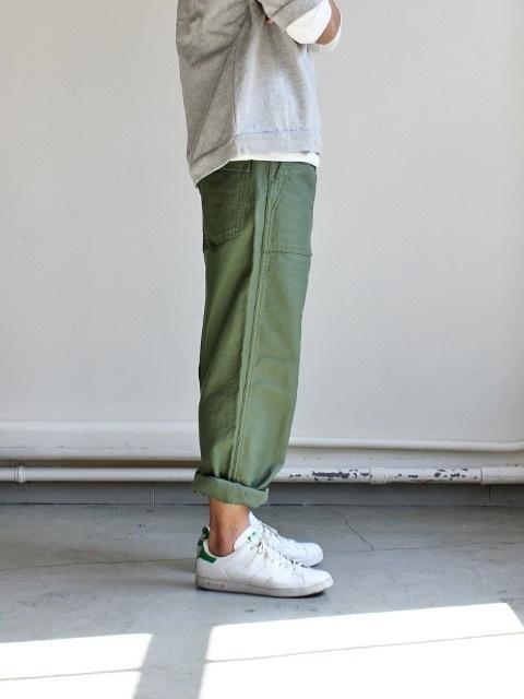 Likes | Tumblr #fashion #pants #green