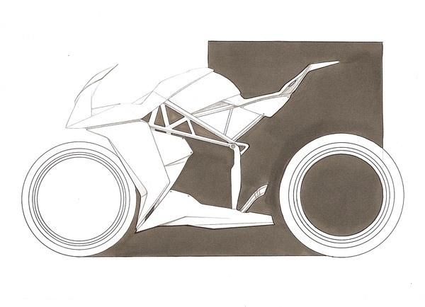 Bottpower M210 on the Behance Network #design #motorcycle #concept