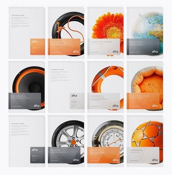 Corporate & Brand Identity - Alka Insurance, Denmark on the Behance Network #branding