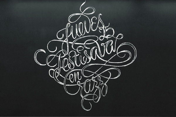 Festisava Patrice Barnabé #lettering #chalk