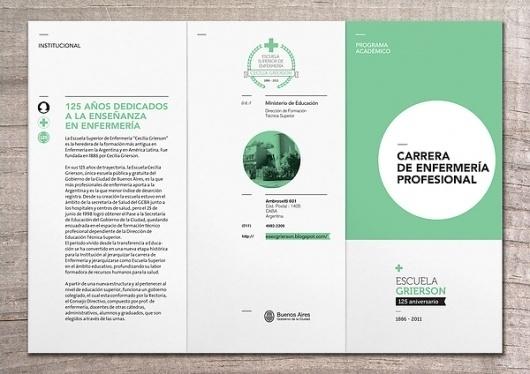 ESCUELA CECILIA GRIERSON on the Behance Network #information design