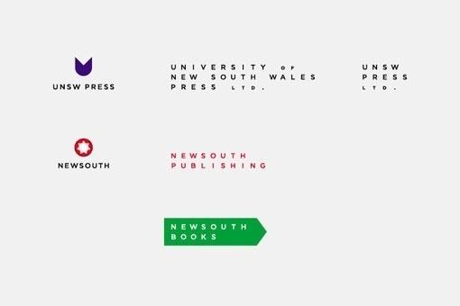 Design Work Life » Mark Gowing Design: UNSW Press Ltd. Identity #branding