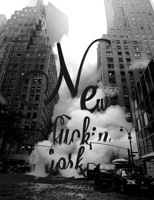 nyc type #nyc #typography