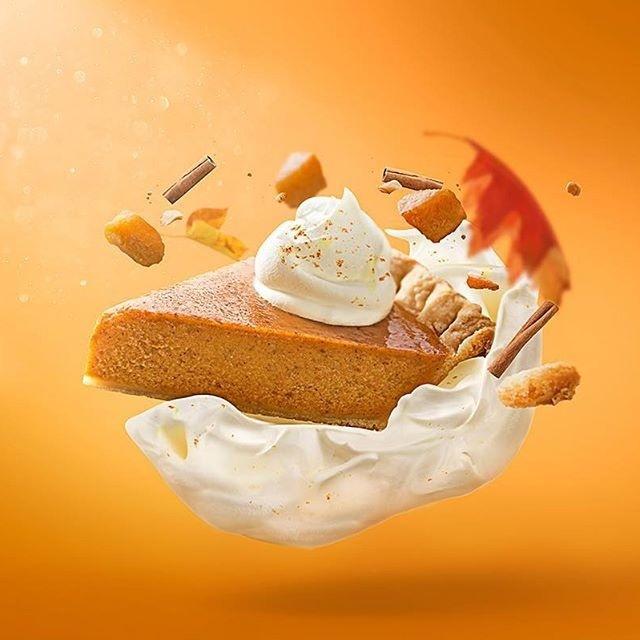 #food #foodporn #composite #poster #food #pie #dessert #pumpkin