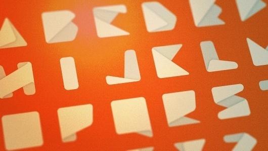 Jxnblk #font #title #experimental #type #jxnblk #paper