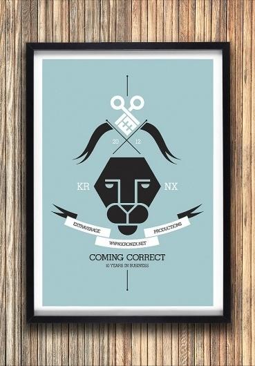 KRNX2012 | Flickr - Photo Sharing! #vector #lion #design #crest #illustration #poster #kronex
