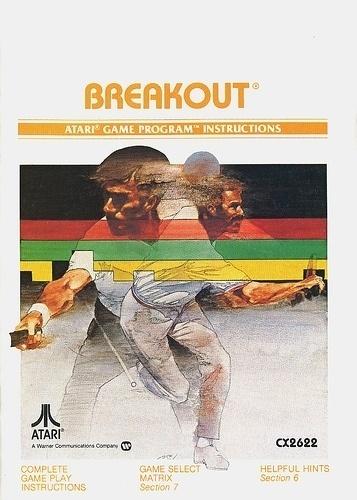 Atari - Breakout   Flickr - Photo Sharing! #games #video #illustration #manual #booklet