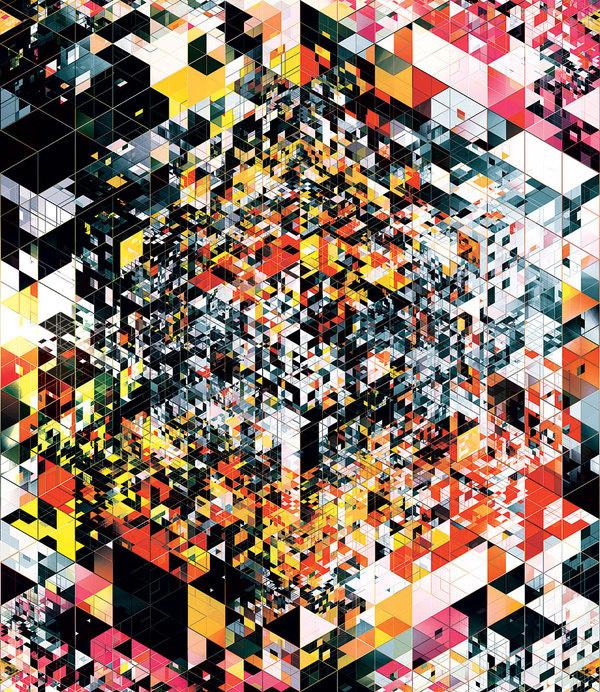 mind destroying paradox #colors #shapes #illustrations