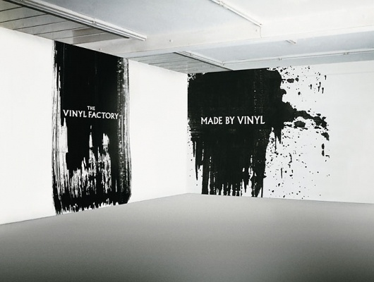 The Vinyl Factory : Village Green #white #installation #black #texture #and