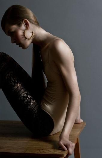 Hoop Earrings — SMITH/GREY Jewellery Design Studio #fashion #hoops #smithgrey #jewellery