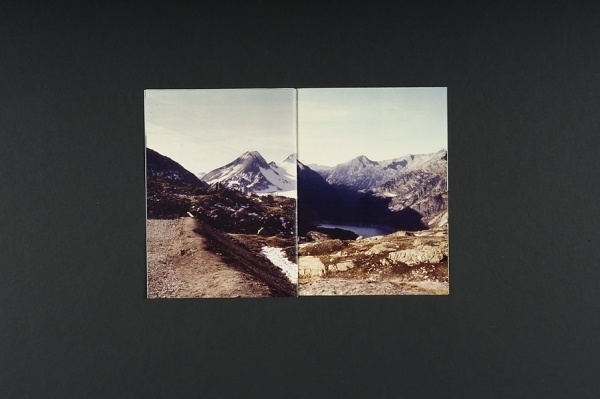 The Perfect Background : ANNA HAAS #mountain #photo #book #nature #layout