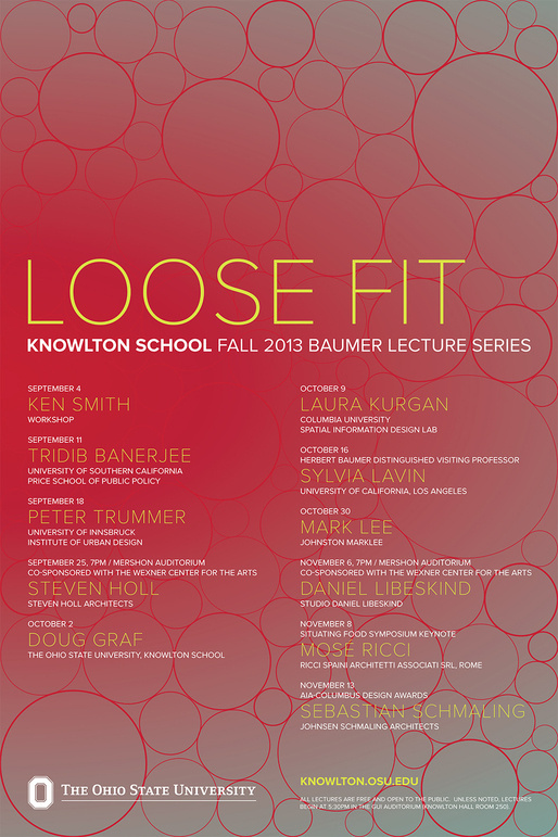 Fall Lecture Series - Loose Fit #design #graphic #posters #poster