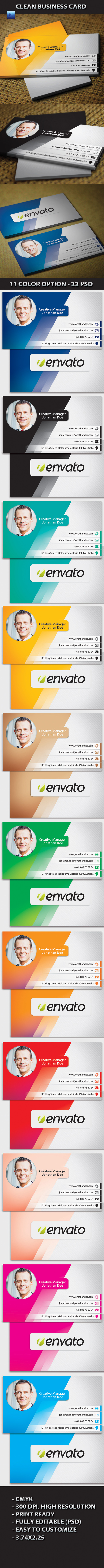 Creative Professional Business Card #card #bussiness #branding