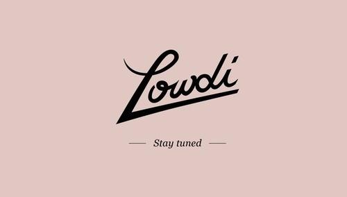 Lowdi logo #lowdi #type #logo #typography