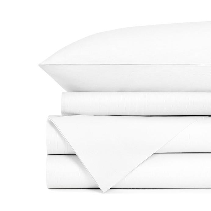 DreamCloud white cotton sheet set