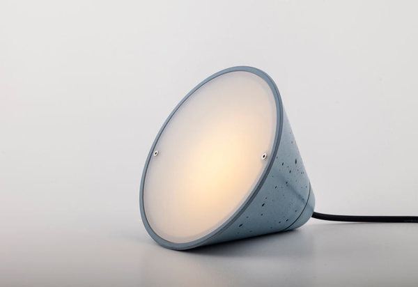 Concrete Lamps by Itai Bar On & Oded Webman #lamp #concrete