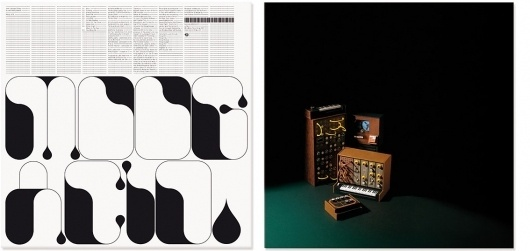 Non-Format - Moog Acid #music #packaging #typography