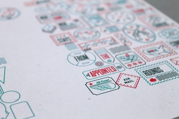 Not For Rental on Behance #stamps #icons #outline