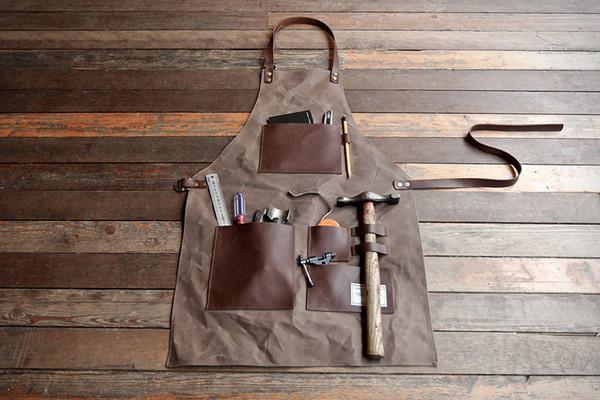 Gentleman's Apron #apron #leather