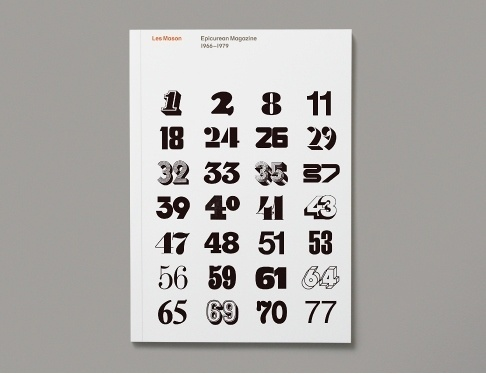 Item 131: Les Mason / Epicurean Magazine 1966–1979 « Recollection #inspiration #magazine #typography
