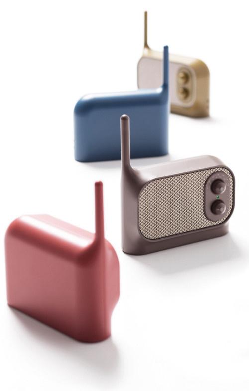 Mezzo by Ionna Vautrin #radio #minimalist design