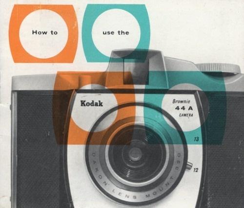 Camera #camera #kodak #orange #colors #vintage #blue