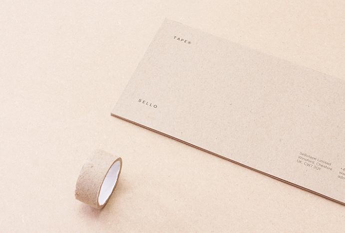 Sellotape by Rajan Solanki #graphic #design #envelope #tape