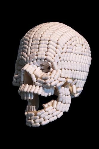 A Cup of Bricks « Zero influence #pills #skull #drugs