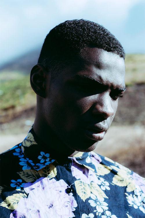 kent andreasen 01 #man #floral #shirt #contrast