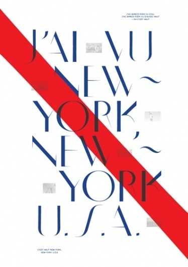 //// Neue / New York ///// #typography #design #graphic #ivan #markovic #poster #york #new