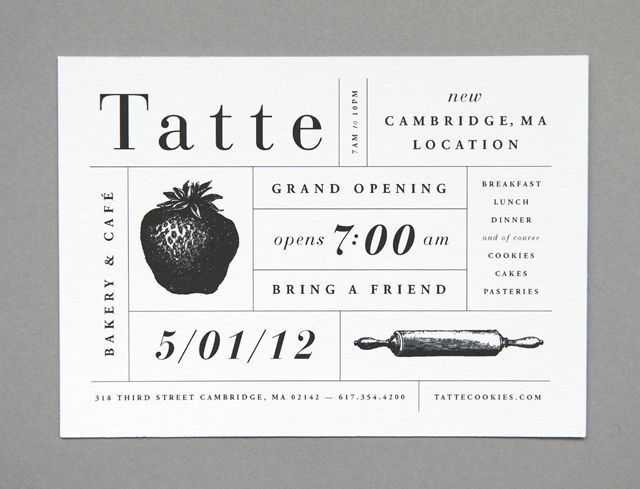 Grand opening #grand #opening #card #typography