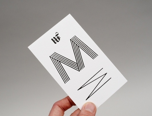 No Days Off – High-res Showcase | September Industry #moritz #days #business #off #card #junge #design #graphic #no #typography